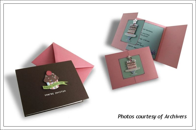 Sample Cards from Archivers