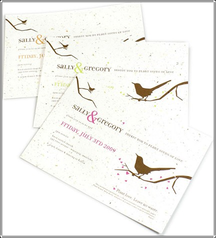 Flowering Invitations