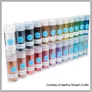 Martha Stewart Glitter Set