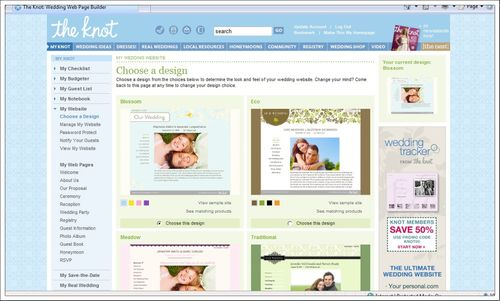 The knot website