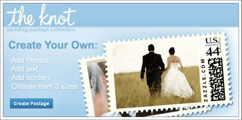 Custom Postage from The Knot