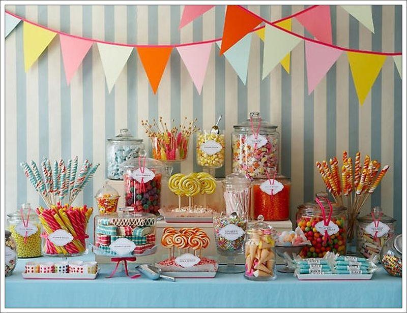 Amy Atlas Candy Shoppe Dessert Buffet