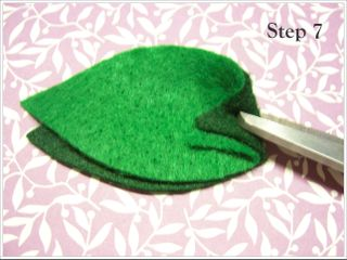 Felt Flower Step 7 by DIY Unveiled