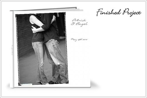Shutterfly Guest Book Finished Project