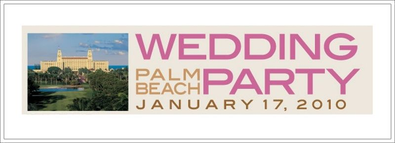 Wedding Party Palm Beach 2009